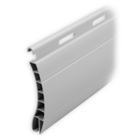 Kunststoff Ersatzlamelle 55 x 14 mm | Modell Aalen | Farbe grau | Länge 600mm