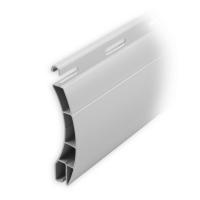 Kunststoff Ersatzlamelle  55 x 14,7 mm | Modell Ulm | Farbe grau | Länge 600mm