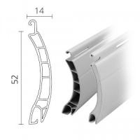 Maxi Kombi-Rolladen / Rolladenpanzer Kunststoff (PVC) / Aluminium 52 x 14 mm | Modell Berlin / Europa