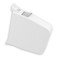 Maxi Rolladen-Aufschraub-Gurtwickler | Lochabstand 174mm | ohne Gurt | weiß