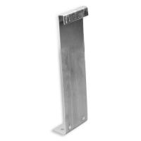 Maxi Rolladen-Sicherungsblech / Hochschiebesicherung | für Maxi Aufhängeprofilstücke | mit Sicherungsfeder | verzinkt