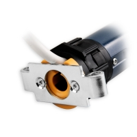 Mechanischer Mini-Rohrmotor / Rolladenmotor LS 40 Aries 4/14 | 4 Nm | Kabel 3m schwarz