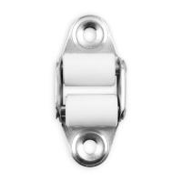 Mini-Doppelleitrolle | senkrecht | Lochabstand 45 mm | verzinkt