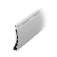 Kunststoff Ersatzlamelle  37 x 8 mm | Modell Pico | Farbe grau | Länge 1000mm
