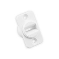 Mini Gurtführung aus Kunststoff | Lochabstand 30 mm | weiß