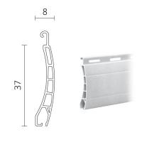 Mini Kunststoff (PVC) Rolladen / Rolladenpanzer 37 x 8 mm | Modell Pico