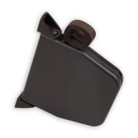 Mini Rolladen-Aufschraub-Gurtwickler | Lochabstand 145 mm | schwenkbar | mit 5m Gurt | braun