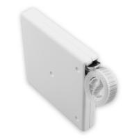 Mini Rolladen-Aufschraub-Gurtwickler | mit 5 m Gurt | weiß