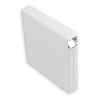 Mini Rolladen-Aufschraub-Gurtwickler | ohne Gurt | für Gurtbreite 15 mm | weiß