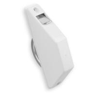 Mini Rolladen-Halbeinlass-Gurtwickler | Lochabstand 135 mm | ohne Gurt | weiß