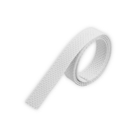 Mini Rolladengurt | Gurtbreite 12 mm | Gurtstärke 1,2 mm | antibakteriell | grau