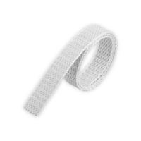 Mini Rolladengurt | Gurtbreite 14 mm | Gurtstärke 1,2mm | mit Schonkante | hellgrau