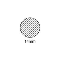 Moosgummi-Dichtung MG011 | grau | 5 lfm