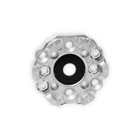 Motorlager aus Aluminium | mit Muttern und Zentrierung | für RevoLine M & RevoLine L Antriebe