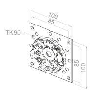 Motorlager für VEKA-Variant Elemente | für RevoLine M & RevoLine L Antriebe