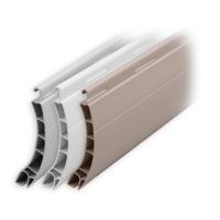 Kunststoff Rolladen Muster-Lamellen | Modell Berlin | Deckbreite 52mm