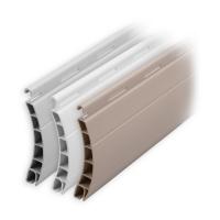 Kunststoff Rolladen Muster-Lamellen | Modell Brüssel | Deckbreite 45mm