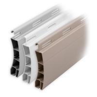 Kunststoff Rolladen Muster-Lamellen | Modell Frankfurt | Deckbreite 50mm
