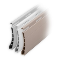 Kunststoff Rolladen Muster-Lamellen | Modell Pico | Deckbreite 37mm