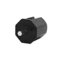 Rohrmitnehmer SW 40 Achtkant (38mm) für Schneckengetriebe 414Fxxx | für 7 mm Sechskant
