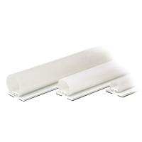 Rolladen-Abdichtung RD20 weiß | 14-23 mm Spaltabdeckung | 2000 mm Länge