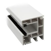 Rolladen Mini Führungsschiene 930 | Kunststoff weiß