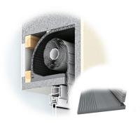 Rolladenkasten-Dämmung ROKA SAN FLEX mit Bodenteil | 13 mm Dämmstärke | 500mm Abwicklung