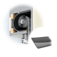 Rolladenkastendämmung ROKA THERMO FLEX | 13 mm | 500 mm Breit
