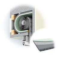 Rolladenkastendämmung ROKA THERMO FLEX | 25 mm | 650 mm Breit