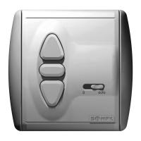 Schalter Inis Uno Comfort VB | Unterputz