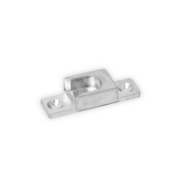 Schließblech A580 | titan silber | 287927