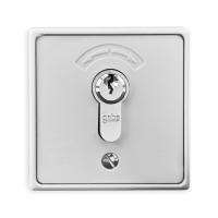 Schlüsseltaster mit Zylinder inkl. 3 Schlüssel 4595 | Unterputz