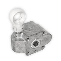 Schneckengetriebe für Markisen | 7:1 | blank | Kugelöse | 13mm Innenvierkant