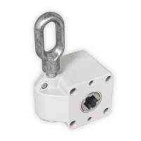 Schneckengetriebe für Markisen | 7:1 | RAL 7035 | 13mm Innenvierkant