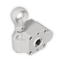 Schneckengetriebe für Markisen | 7:1 | RAL 7035 | Kugelöse | 13mm Innenvierkant