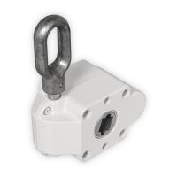 Schneckengetriebe für Markisen | 7:1 | RAL 9010 | 13mm Innenvierkant | mit Endanschlag