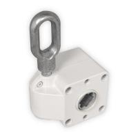 Schneckengetriebe für Markisen | 7:1 | RAL 9010 | 13mm Innenvierkant