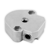 Schneckengetriebe S099 | Untersetzung  4:1 | 6mm Sechskant