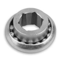 Spezial Kugellager Ø 40 mm | mit Metallkern | Bohrung Ø 17 mm Innensechskant
