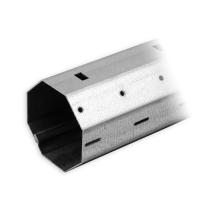 Stahlwelle SW 50 Achtkant | Wandstärke 0,6 mm | mit innenliegendem Falz