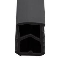 Stahlzargen-Dichtung SZ001 | schwarz | 5 lfm
