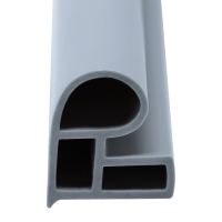 Stahlzargen-Dichtung SZ005 | grau | 5 lfm