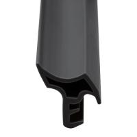Stahlzargen-Dichtung SZ021 | schwarz | 5 lfm