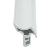 Stahlzargen-Dichtung SZ021 | weiß | 5 lfm