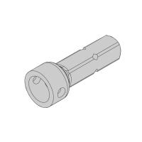 Steckzapfen R3/20 Ø 20 mm | Rund | passend für Antriebe der Serie P/R