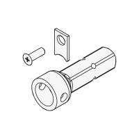 Steckzapfen R3/25 Ø 25 mm | Rund | passend für Antriebe der Serie L