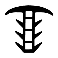 Treppenstufenprofil-Dichtung TS002 | schwarz | 5 lfm