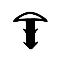 Treppenstufenprofildichtung TS005 | schwarz | 5 lfm