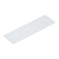 Verglasungsklotz 1 mm   100 x 30 mm   Kunststoff   100 Stk.   STÄRKE WÄHLBAR
