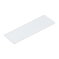 Verglasungsklotz 1 mm   100 x 34 mm   Kunststoff   100 Stk.    STÄRKE WÄHLBAR